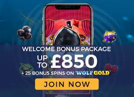 850 in bonuses at top casinos